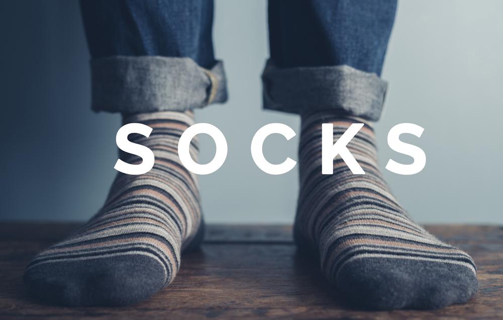 Ladies Patterned Socks