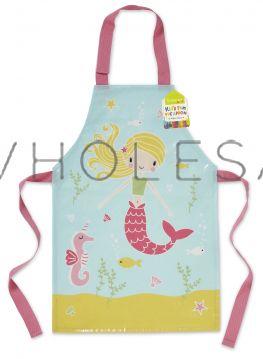AP1022 Kids Mermaid Wipe Clean Apron by Cooksmart