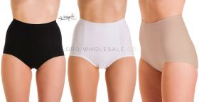 1023 2 Pair Pack Cotton Control Briefs by La Marquise
