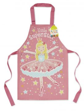 AP1023 Kids Little Super Star Apron by Cooksmart