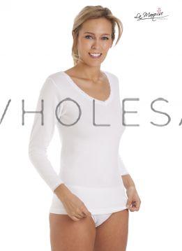 1032 Thermal Long Sleeve Vests