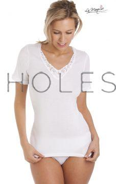 1038 Short Sleeved Cotton Vests