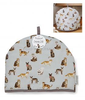 1732 Curious Cats Tea Cosy by Cooksmart