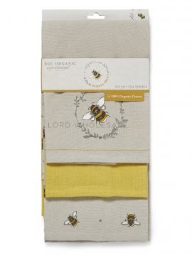 1760 Bumble Bees Tea Towels by Cooksmart