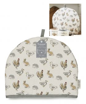 Country Animals Tea Cosy by Cooksmart