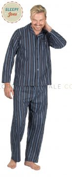 100% Cotton Brushed Pyjama By Sleepy Joe's