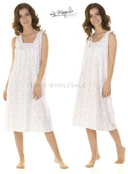 24348 County Fair Sleeveless Nightdresses by La Marquise