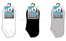 Men's Invisible Trainer Socks by Pro Hike