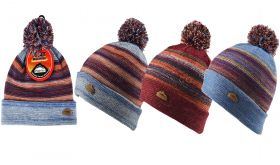 2548 Heat Machine Hats Multi Stripe