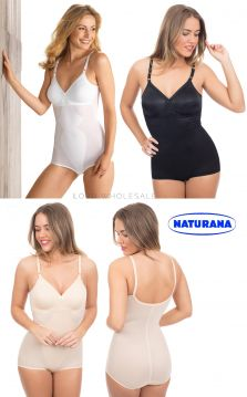Ladies Moulded Corselette by Naturana 3030