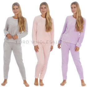 Ladies Shimmer Finish FlannelPyjamas by Forever Dreaming 6 Pieces