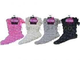 3775-1-A Sherpa Boot Slippers by Co-zees