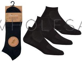 40B528 Wholesale Bamboo Trainer Socks