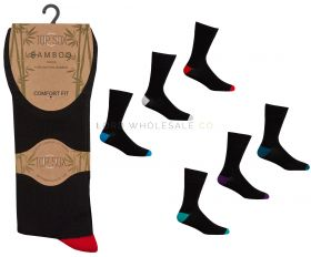 40B533 Non Elastic Bamboo Sock