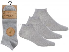 40B589 Wholesale Bamboo Trainer Socks