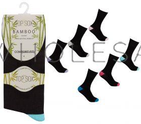 41B531 Ladies Heel & Toe Non Elastic Socks