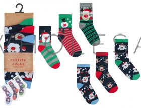 42B568 Children's Christmas Socks