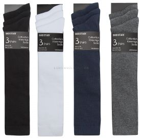 Wholesale 3 Pair Pack Knee Highs