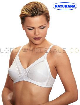 Soft Cup Bras 100% Cotton by Naturana 5201