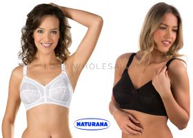 Firm Control Lace Cup Bras by Naturana 5422