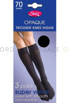 Wholesale Silky Trouser Knee Highs