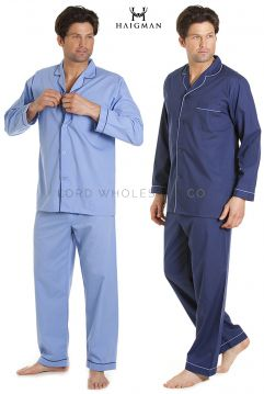 7490 Haigman Poly Cotton Pyjamas