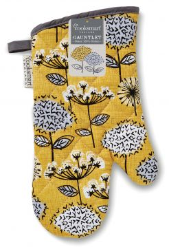 SG9921 Retro Meadow Gauntlet Oven Gloves