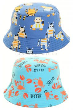 B48 Younger Boys Sun Hats