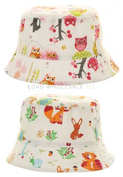B65 Younger Girls Sun Hats