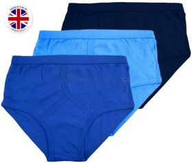 Wholesale British Made Blue Y-Fronts