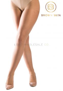 Brown Skin Essentials Tights Light Brown Sand