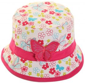 C12 Girls Butterfly & Flower Hats