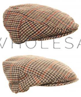 C17 Boys Wool Flat Caps