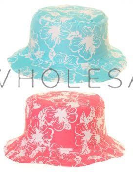 Older Girls FlowerBucket Hats Sun Hats 12 pieces