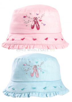 C575 Girls Ballerina Sun Hats