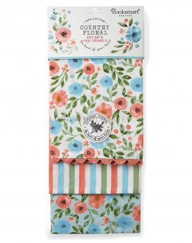 TT1383 Country Floral Tea Towels