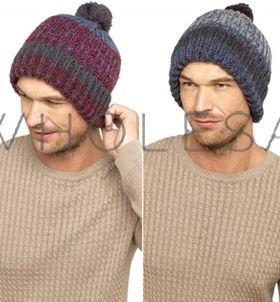 GL607 Men's Chunky Bobble Hats