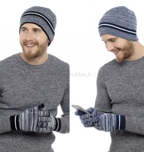 GL620 Hat and Touch Screen Gloves Set