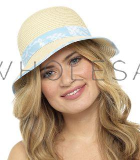 GL713 Crushable Straw Cloche Hats