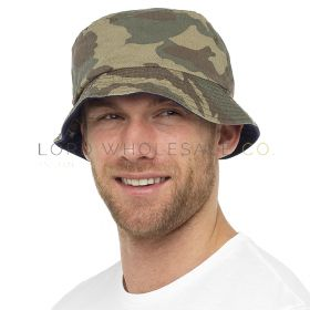 GL783 Adults Camouflage Bucket Hats