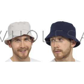 GL796 Adults Plain Bucket Hats