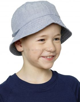 GL928 Kids Striped Bucket Hats