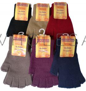 Ladies Handy Thermal Fingerless Gloves