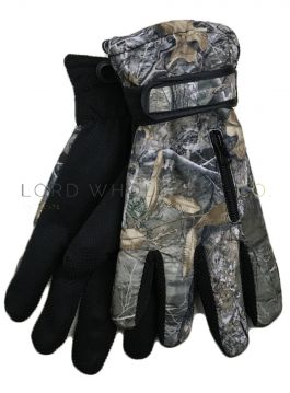 Mens Winter Sports Gloves with Gripper Palm by Rock Jock