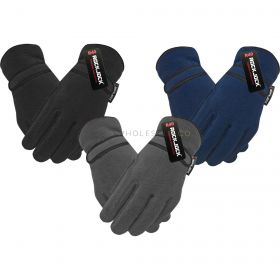GLA172 Boys Thermal Lined Fleece Gloves