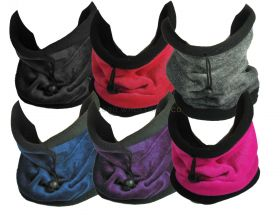 Unisex Super Soft Neck Warmers Snoods Gaiters by Rock Jock 12 pieces