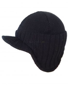 HAI-649 Men's Fleece Lined Hats With Peak