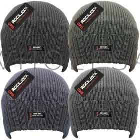 HAI-704R Plain Knitted Beanie Hats