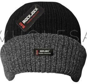 HAI-709R Thermal Grey Cuff Hats