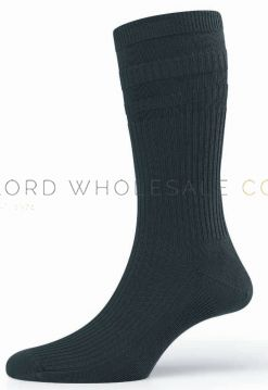 Mens & Ladies Non Elastic Softop Cotton Socks by HJ Hall HJ91